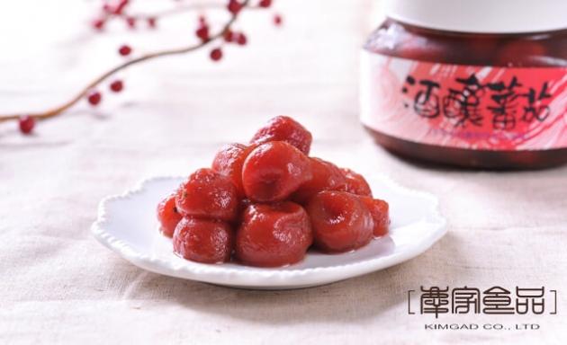 酒釀蕃茄 1
